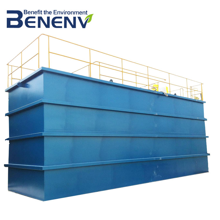 Domestic Wastewater Treatment by Package MBBR Sewage Treatment Plant