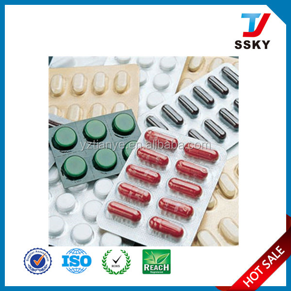 Medical grade pvc pvdc blister coated film for blister packing