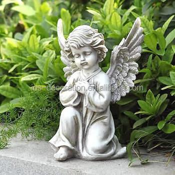 Bon Garden Stone Baby Angel Statue