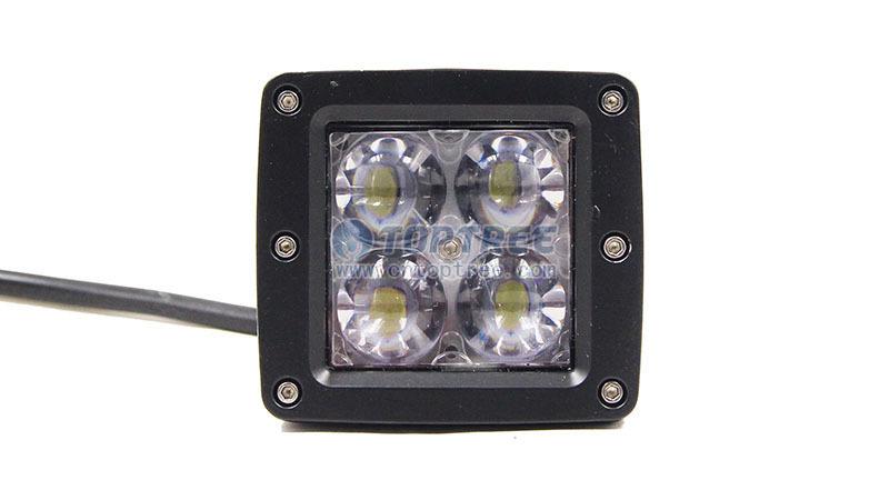 Led Pod 4d Spot Led Work Light 4d Convex Lense Flush Mount