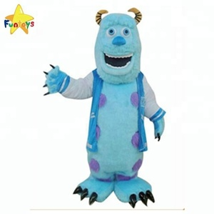 Funtoys Adult big sully mascot costume, monster mascot for sale