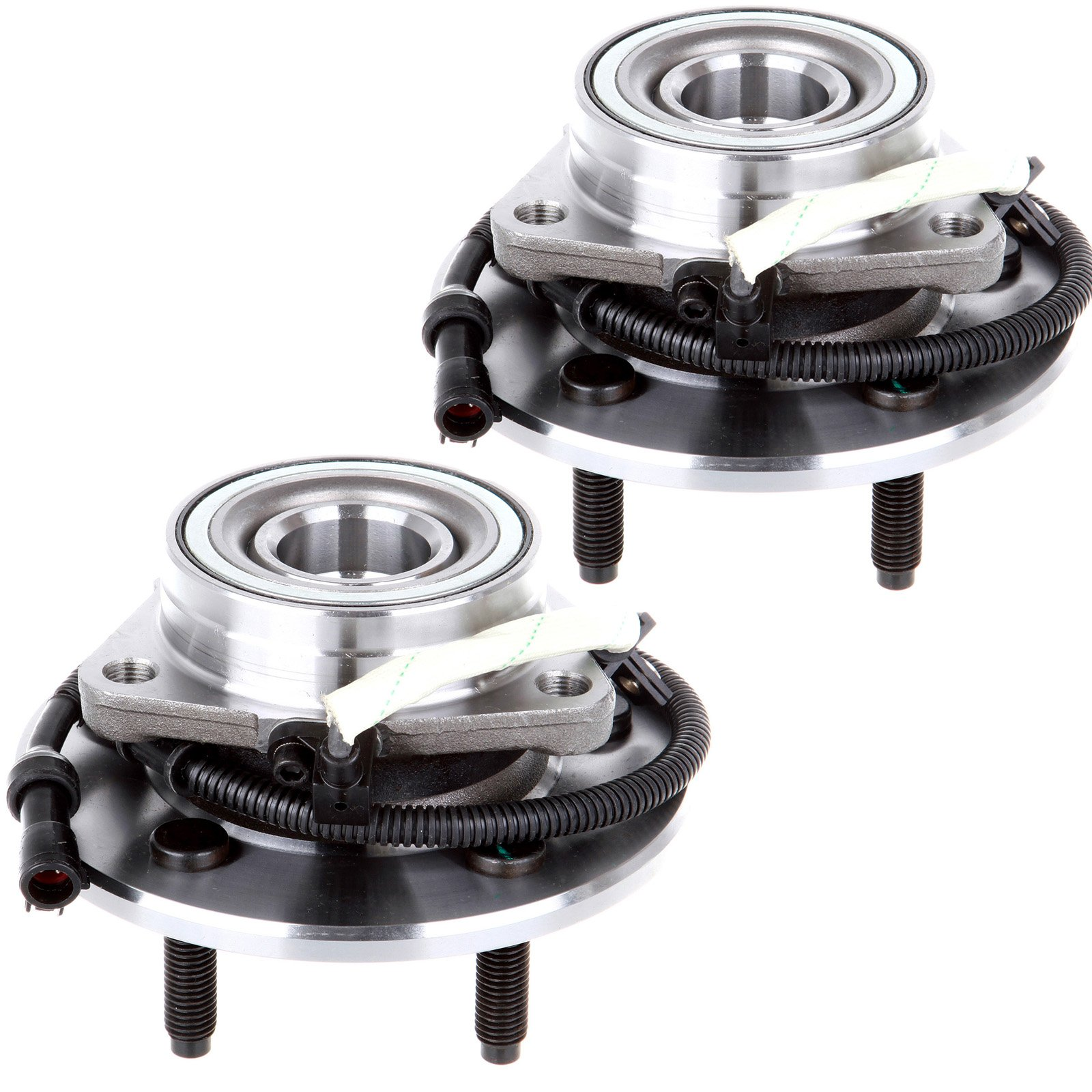 ECCPP New Pair Set of 2 Front Wheel Hub Bearing Assemblies for 00-04 Ford F150 4WD 515029X2
