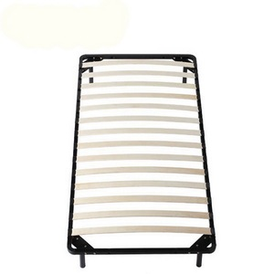 strong construction slatted metal pipe bed frame cot beds DJ-PK02-1