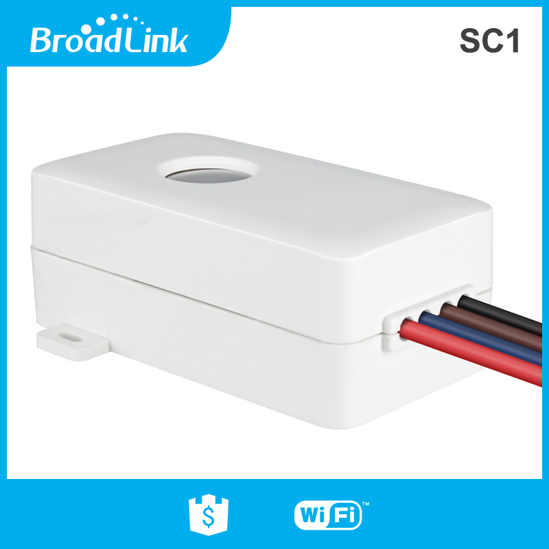 BroadLink SC1 smart wifi controlled 10A electric kettle switch via mobile phone