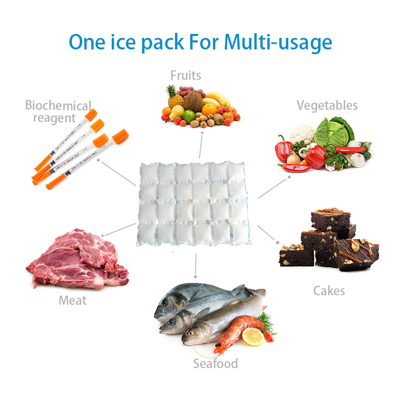 hydrated ice packs cool packs for cooler gel pack for lunch cold packaging