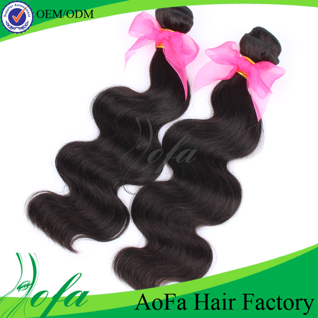 Hot sale no tangle unprocessed indian remy wavy hair