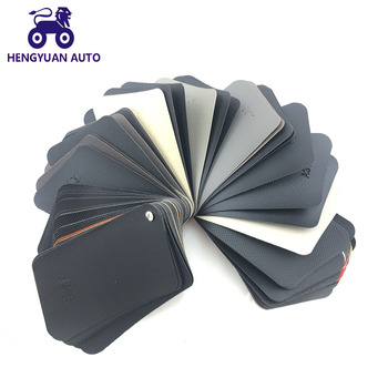 Leather Vinyl For Car Dashboard Wrapping Interior Decoration