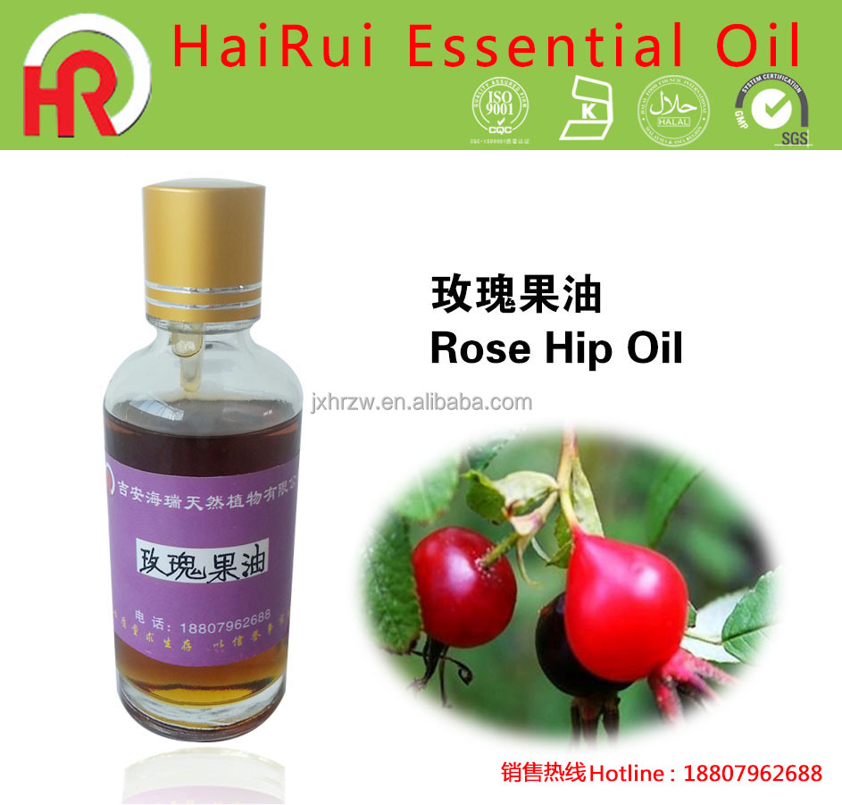 Pure fresh OEM manufacture competitive price rose hip oil