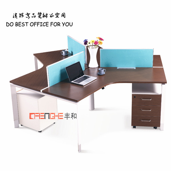 wholesale office cubicles prices 3 person workstation