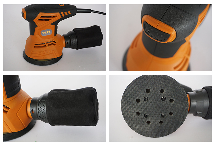 240W 125mm industrial electric power tool rotary sander for sale AJ8