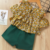 2019 Summer children clothing set baby girls chiffon  off shoulder clothing set kid t-shirt+Short Pants 2pcs clothing set