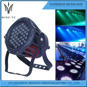 American dj waterproof par light rgb 36 led dj stage lighting