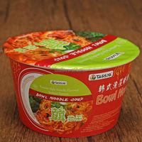 Wholesale Noodles Kimchi Bowl Instant Noodles
