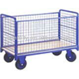 Warehouse Workshop metal Cage trolley met wielen