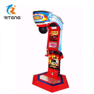 King of The Hammer - Big Punch Boxing Coin Operated Redemption Arcade Game  Machine