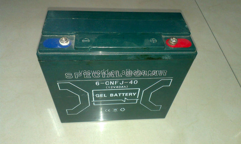 gel batery 6-CNF-40 12V40AH sealed lead acid gel battery for solar system