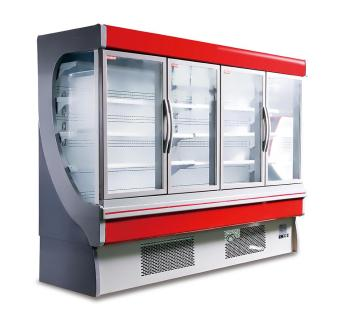 Plug in Glass Door Multideck Display Cooler
