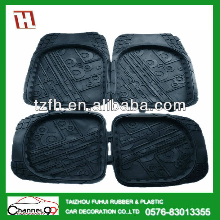 FH-004 PVC car foot/floor mat corolla accessories
