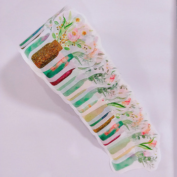 Customized Printing Flower Decorative Tape,Masking Tape