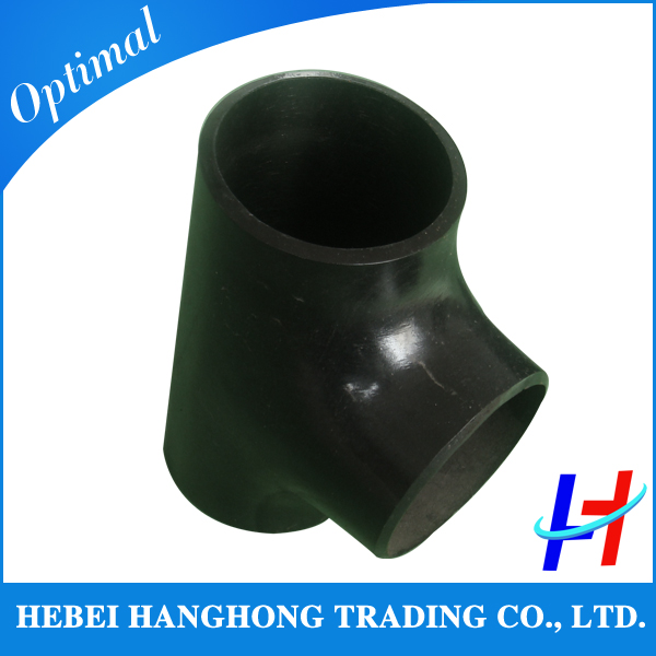 1/2 inch 90 degree equal carbon steel pipe fitting tee sch40