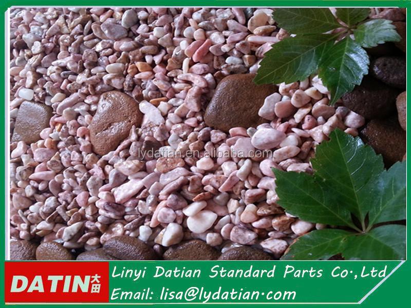 mezclado y hermosa piedra piedra para decoracion jardin