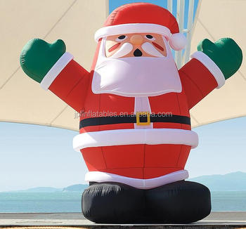 2017 giant inflatable santa christmas inflatables santa claus for decorations