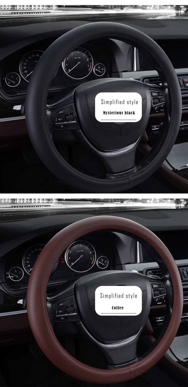 FX-P-006 best quality Automotive memory foam steering wheel cover