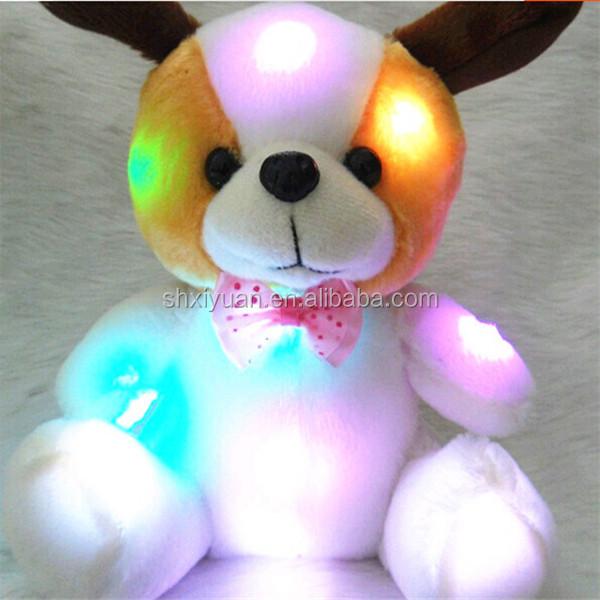 Romantic Plush Toys/led Teddy Bear/light Up Animal Toys