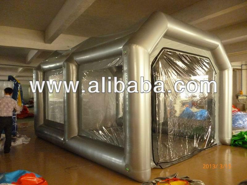 gonflable cabine de pulv risation cabine de peinture id de produit 142978310. Black Bedroom Furniture Sets. Home Design Ideas
