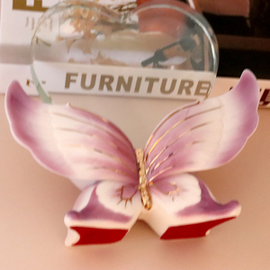 Hot selling Heart shaped Crystal Glass Awards with butterfly base, K9 Crystal Trophy for Souvenir