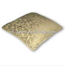 Gold Jacquard Throw Pillow Cover Cushion for Sofa Bed Home