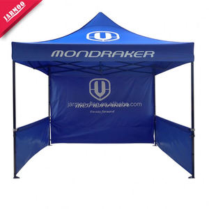 Full Color Heat Transfer Printed With Pole Plastic Exhibition Marquee Tent