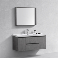 "Cheap European Style Modern 48"" Bathroom Storage Cabinet Vanity Units"