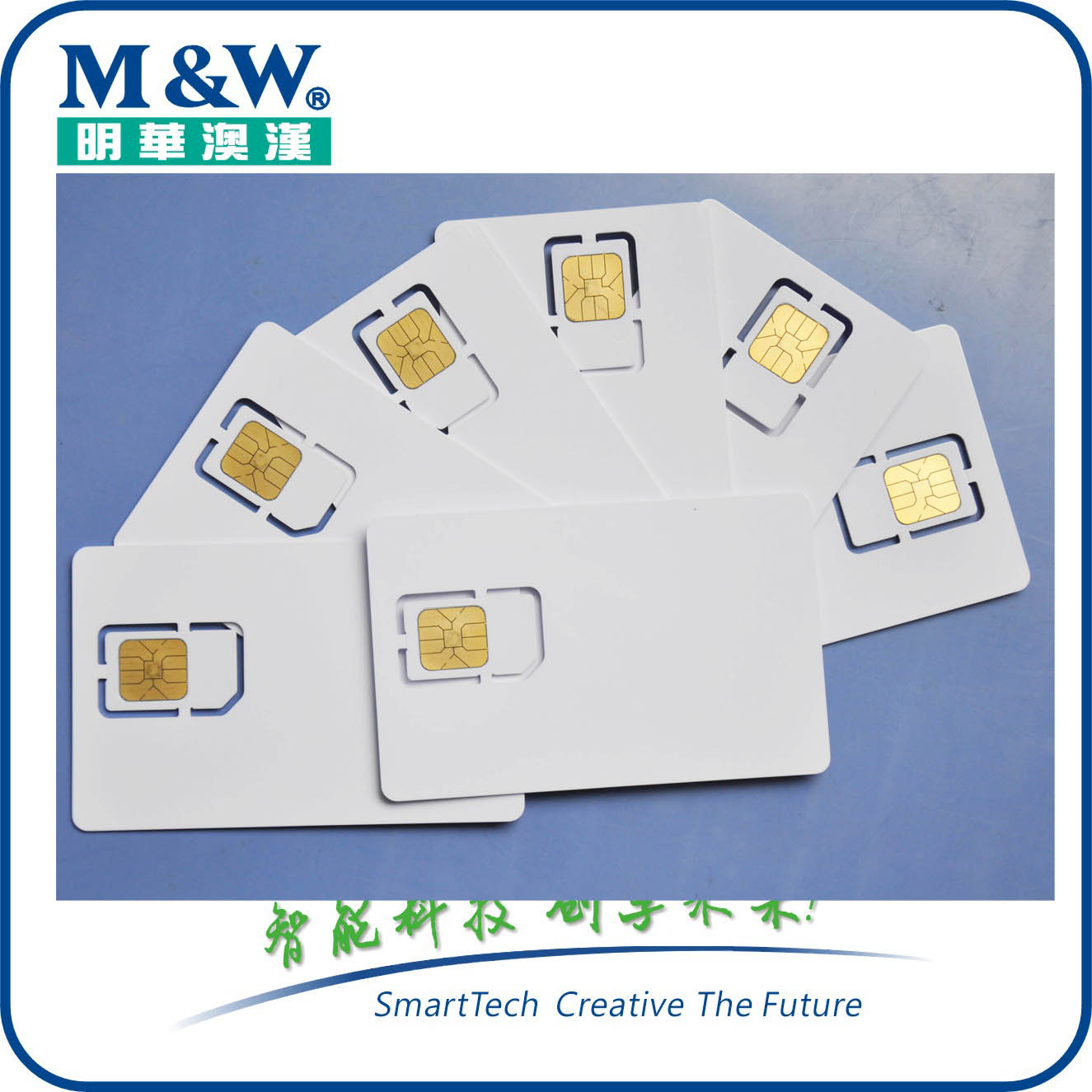 M&W PBOC CPU smart card