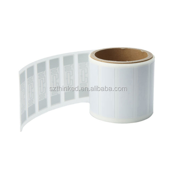 UHF Alien H3 Impinj M4 Higgs 3 Monza 4 Chip Tag Roll Paper Plastic Adhesive RFID Sticker RFID Label