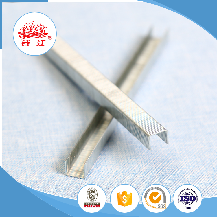 China supplier Qianjiang nail screw furniture staples for wood 14 series