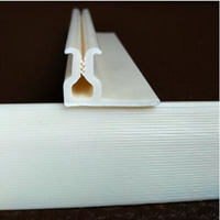 Various shape of PVC Fabric Wall Track PVC Profile