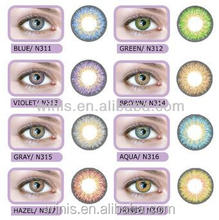 NEO assorted color blend contacts new style color contact lens