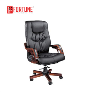 India market wholesale revolving leatherchair office(FOH-B9825)