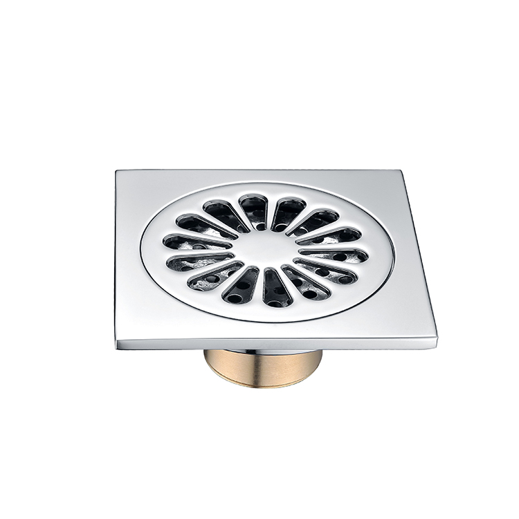 Office Building Toilet Washing Machine Floor Drain With Cover