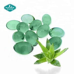Natural Moisturizing and Whitening Aloe Vera Soft Capsule for Skincare