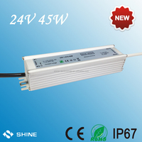 Shenzhen made 230vac input 24dc output led power supply, 24v dc 45w g4 lamps led transformers