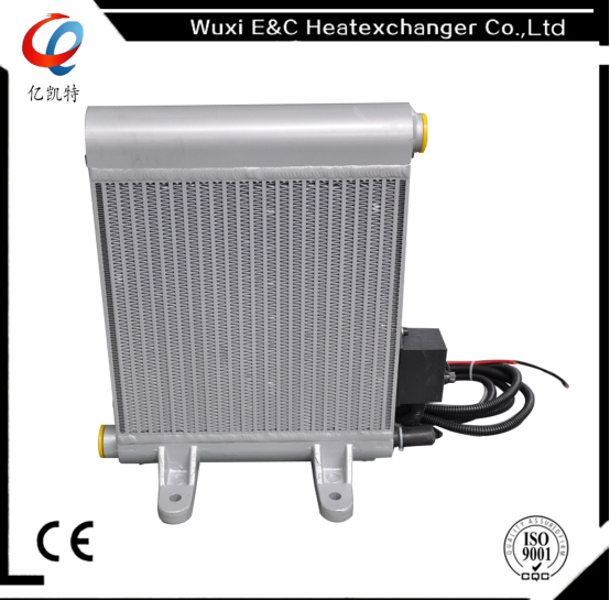 Compact Hydraulic Oil Coolers : Hydraulic air to oil coolers for concrete mixer buy