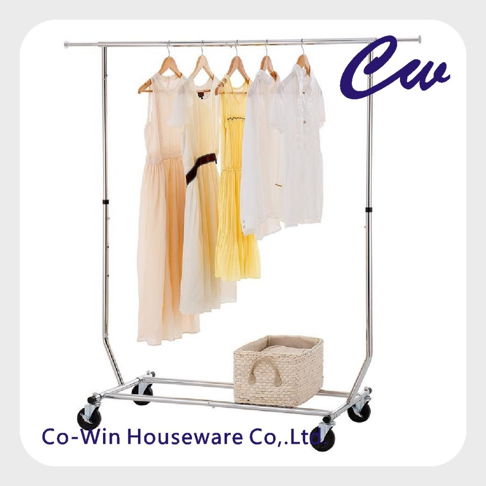 Garment rack collapsible heavy duty clothing hanging rack on lockable wheels clothes drying rack buy clothes drying rackgarment rackclothes hanger