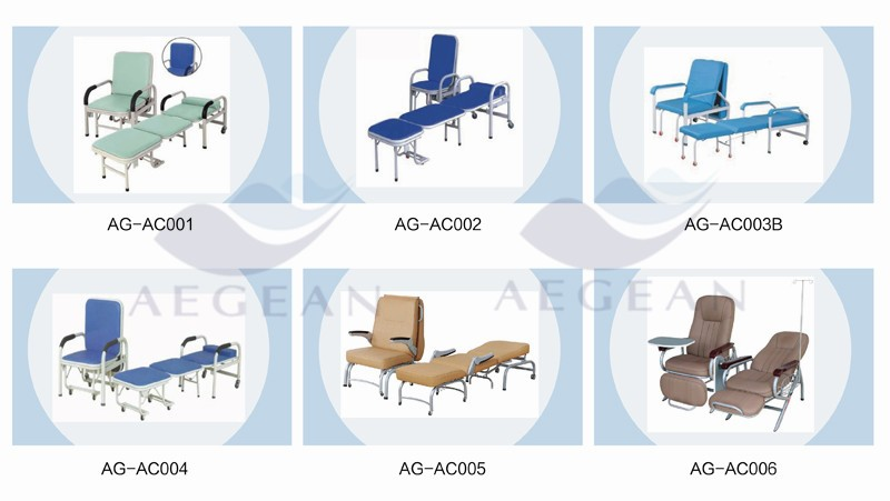 AG-TWC001 durable hospital waiting clinic chair with 3-seater