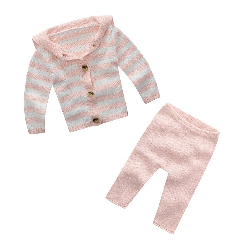 wholesale kids child clothes red white stripe pajamas for muslim