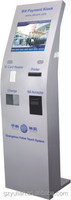 bill payment kiosk with ic card reader, bill acceptor, payment terminal kiosk