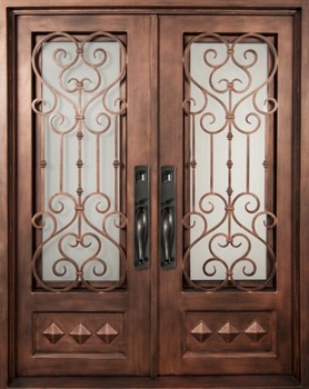 exterior china low prices commercial steel iron gate door prices