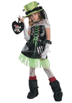 Japanese hot girl kids monster high costume halloween costumes QBC-5889