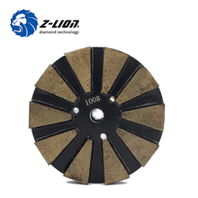 Profession Metal Diamond Polishing Pad For Concrete Floor Wet Surface Grind Disc